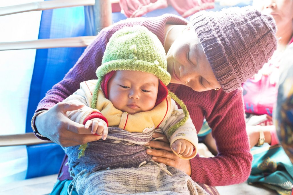 Outreach for Women and Girls in Post-Quake Nepal
