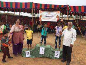 Sports Event commemorating our 15th year