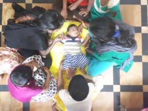 Our newest entrant - Aravind (seven months old)