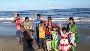 At the beach1