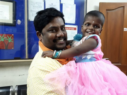 Sai Lakshmi - pretty in pink!