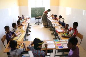 Special Education Class in progress