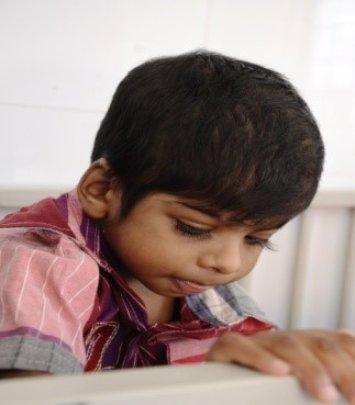 Sudharshan attending class