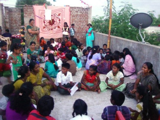 Awareness to 100 children on sexual abuse