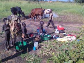 Poor children needs food & medical