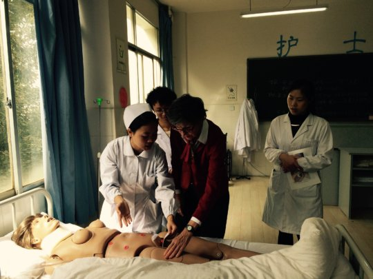 Dr. Martha Tanicala and ANI staff and students