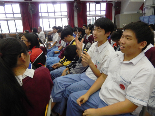 """""""Life Education Session"""" at Schools (2)"""