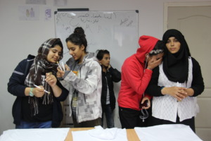 Creative workshops for the refugees 1