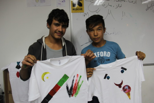 Creative workshops for the refugees 2