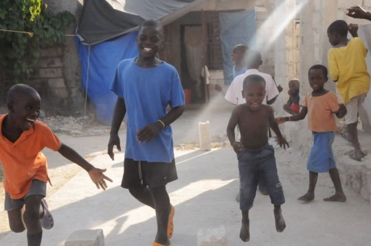 The kids at HTDC orphanage have a bright 2017