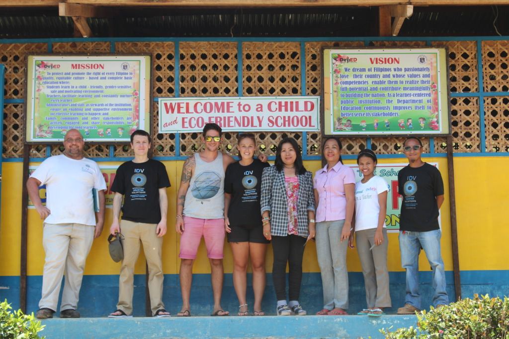 Classrooms repaired after typhoon Haiyan