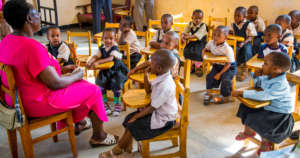 Young Roses Pre and Primary School in Tanzania