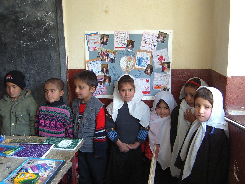 HTAC primary school peace room