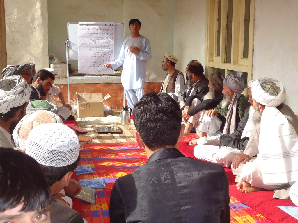 community peace building