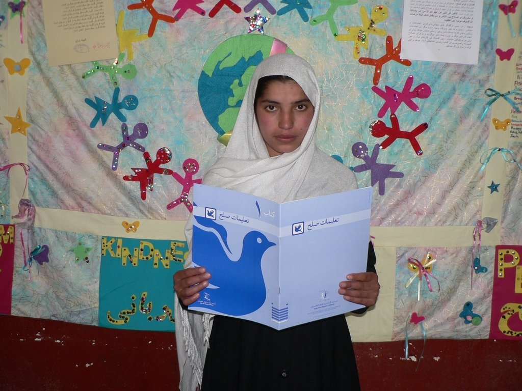 Stop extremism. Teach Afghan kids to embrace peace
