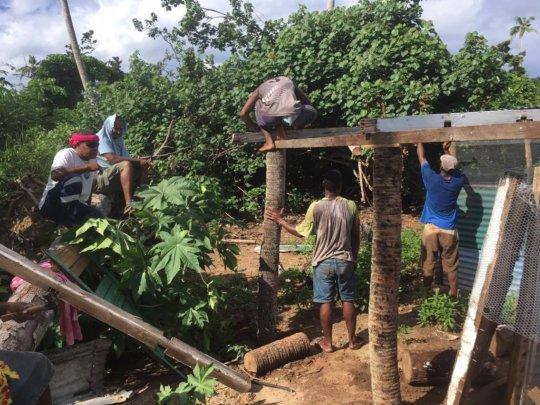 Extending the chicken coop