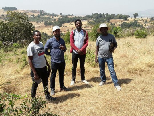 WeForest & THP project managers with Dr. Abiyu