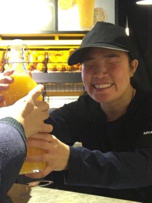 Barista star Li Ying!