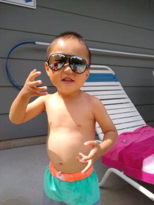 Jackson, living the good life!