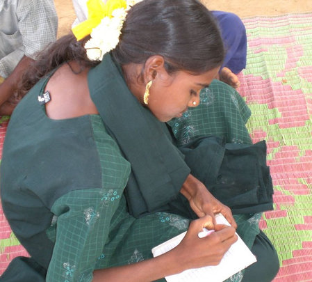 Improve lives of 50 tribal children with writing