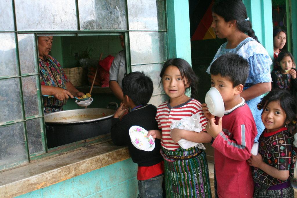 School meals encourage regular attendance