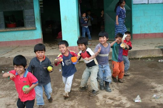 School Meals for Indigenous Children in Guatemala