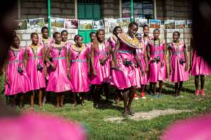 Tehani Photo Workshop Exhibition in Kenya.