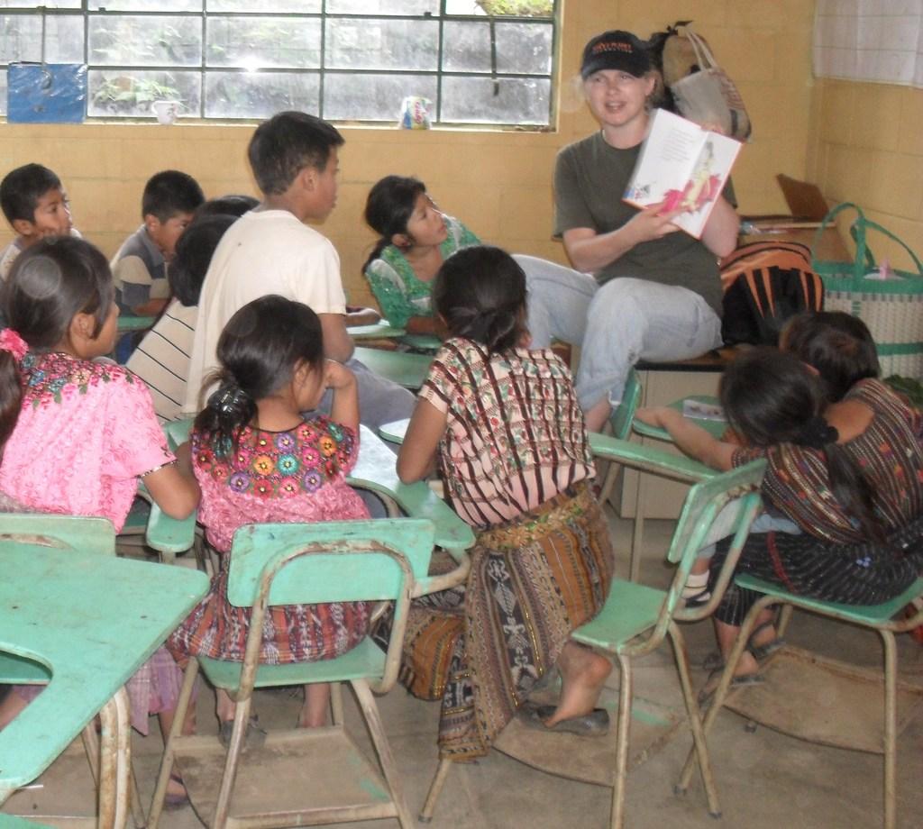 Teaching at Lake Atitlan
