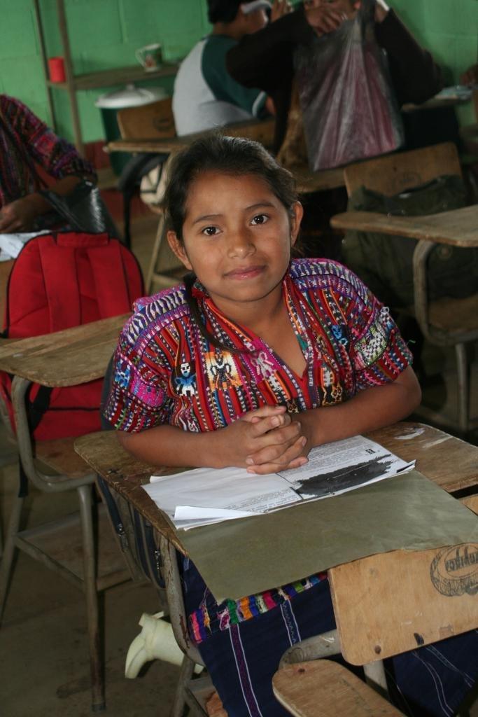 School for Mayan Children, Lake Atitlan, Guatemala
