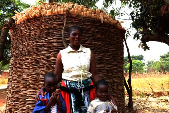 Florence - Soy & Maize Farmer in Mchinji, Malawi