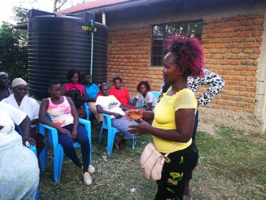 Training for women of Kisumo