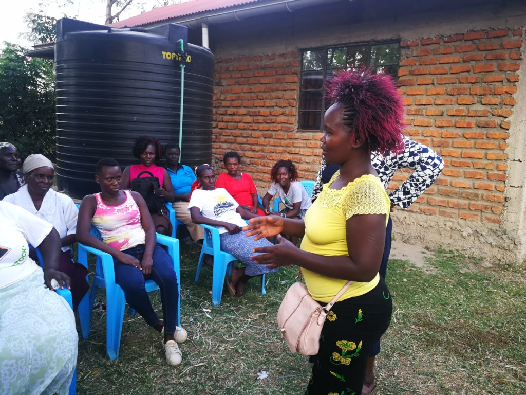 Training for women of Kisumo