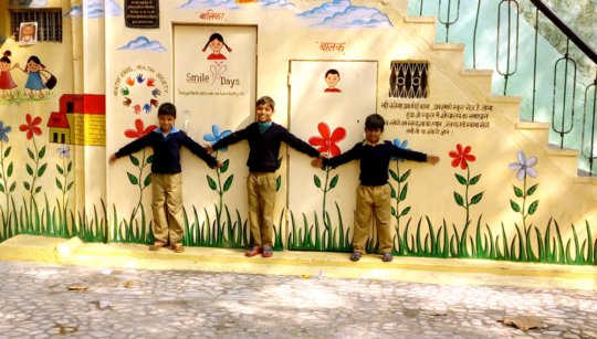 New Toilets Under Smiley Days Campaign