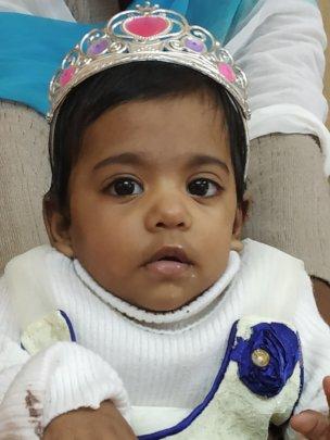 Khushbu's 1st birthday