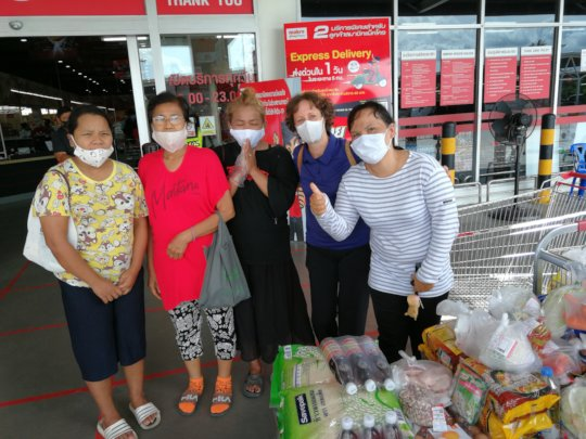 The women that phoned for urgent food help