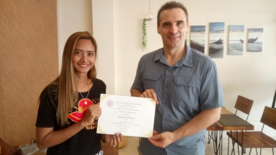 Yaa with English Certificate