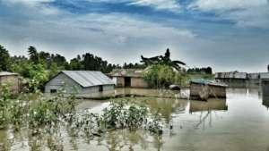 Flood in northern Bangladesh