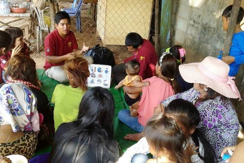 Supporting children and families in Cambodia