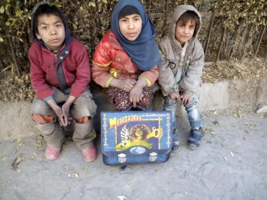 Street children in Kabul