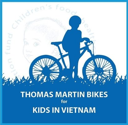 Thomas Martin's Bikes for Kids in Vietnam