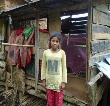 Bimala, a fifth grader in Kinship Care