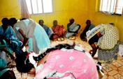 sponsor Food to starving neglected elder women