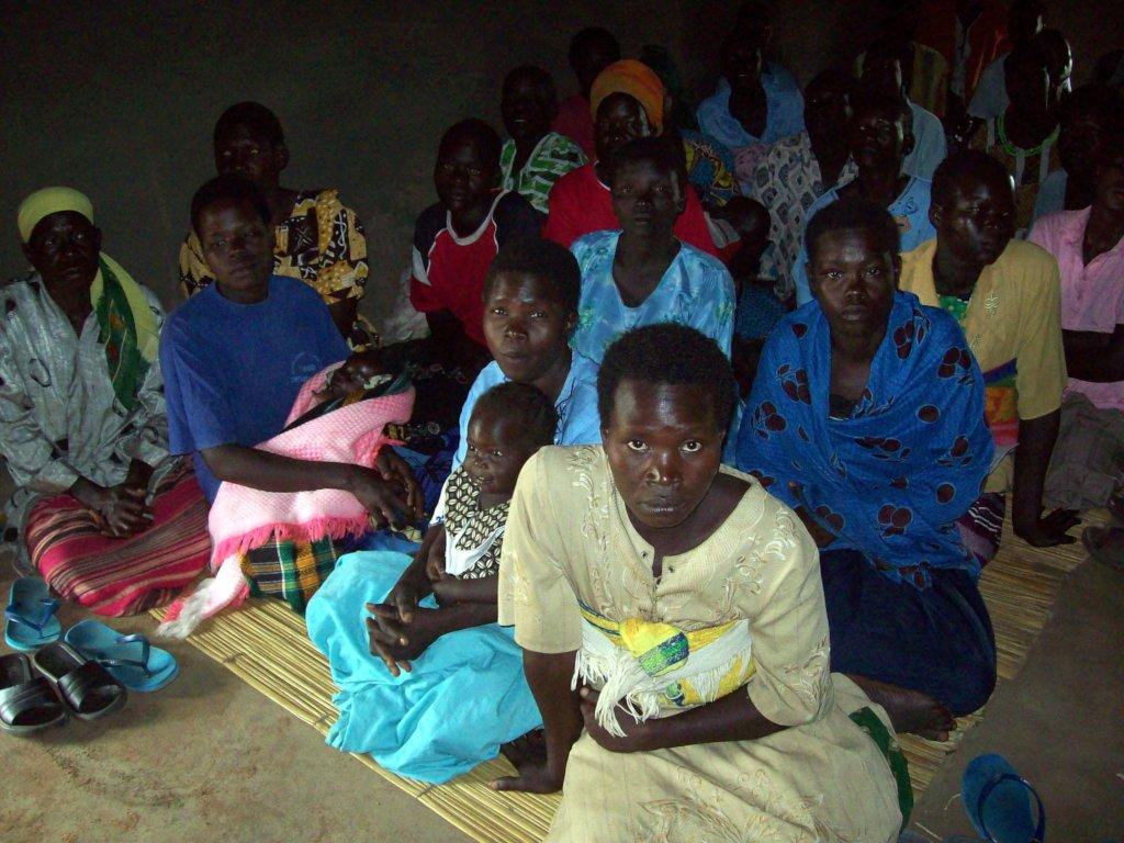 Women farmers at Parabongo