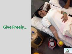 Give Freely - Donate Blood