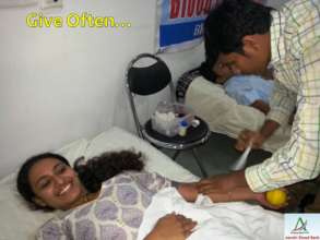 Give Often - Donate Blood Regularly