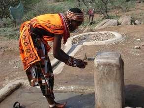 Provide water in Samburu, Kenya