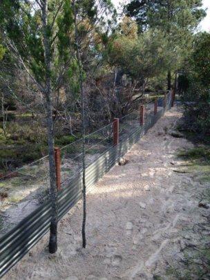 Rewilding Project Internal Fence