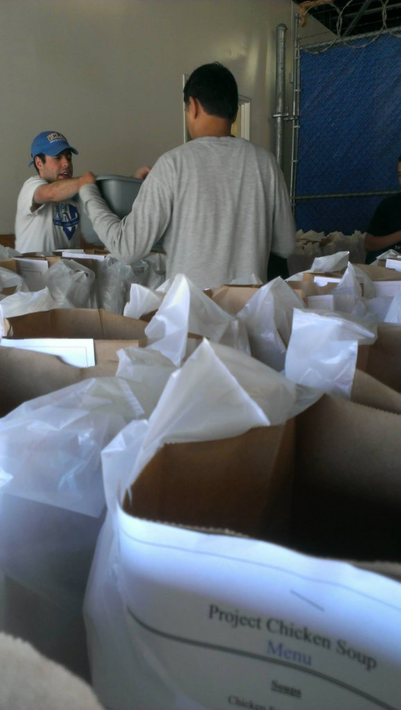 Deliver Meals to People with Serious Illness in LA