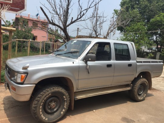 The 4x4 truck we are trying to raise funds to buy