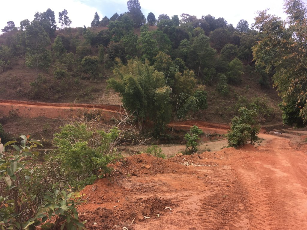 Road work continues in prep for rainy season